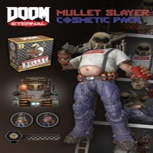 DOOM Eternal Mullet Slayer Master Collection Cosmetic Pack