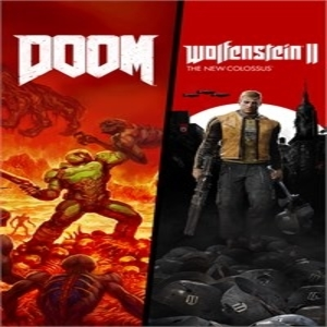 Buy DOOM Plus Wolfenstein 2 Bundle Xbox Series Compare Prices