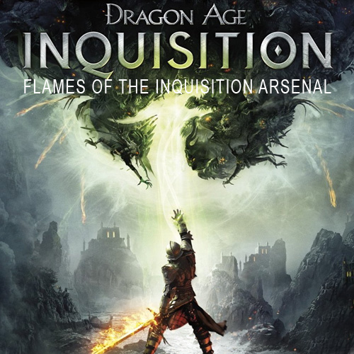 Buy Dragon Age Inquisition Flames of the Inquisition Arsenal Xbox 360 Code Compare Prices