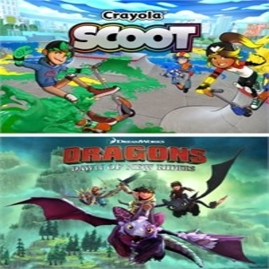 Dreamworks Dragons Dawn of New Riders and Crayola Scoot