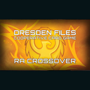 Dresden Files Cooperative Card Game Ra Crossover