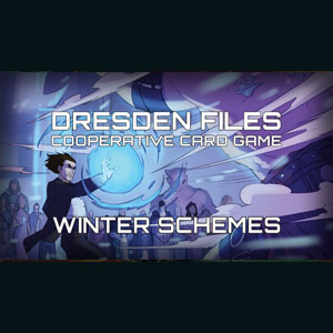 Dresden Files Cooperative Card Game Winter Schemes