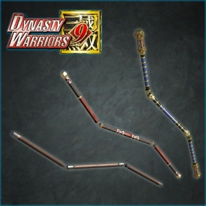 DYNASTY WARRIORS 9 Additional Weapon Tripartite Nunchucks
