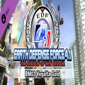 EARTH DEFENSE FORCE 4.1 BM03 Vegalta Gold