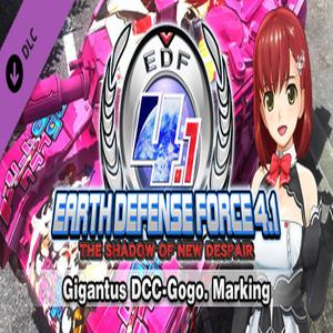 EARTH DEFENSE FORCE 4.1 Gigantus DCC-Gogo Marking