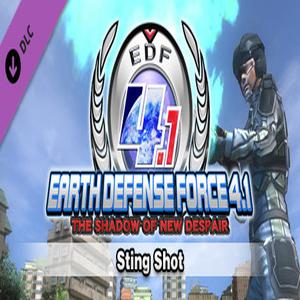 EARTH DEFENSE FORCE 4.1 Sting Shot