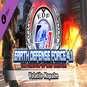 Buy EARTH DEFENSE FORCE 4.1 Volatile Napalm CD Key Compare Prices