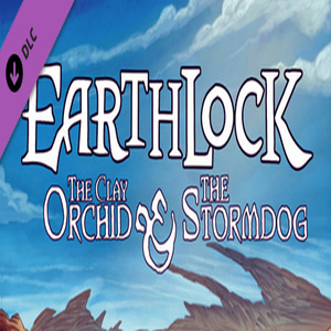 EARTHLOCK Comic Book 1 The Storm Dog and The Clay Orchid