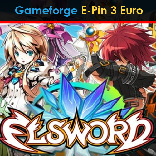 Buy Elsword Gameforge E-Pin 3 Euro GameCard Code Compare Prices