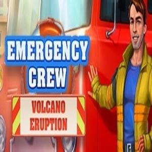 Emergency Crew Volcano Eruption