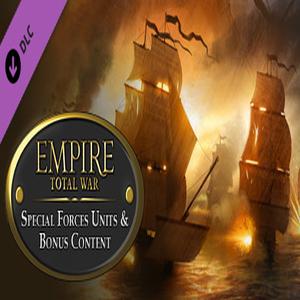 Empire Total War Special Forces Units & Bonus Content