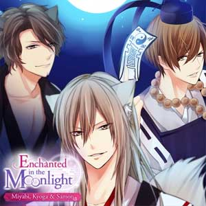 Enchanted in the Moonlight Miyabi, Kyoga & Samon Luck in Love The Key to Happiness