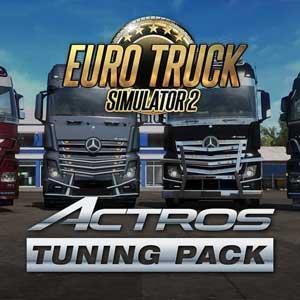 Euro Truck Simulator 2 Actros Tuning Pack