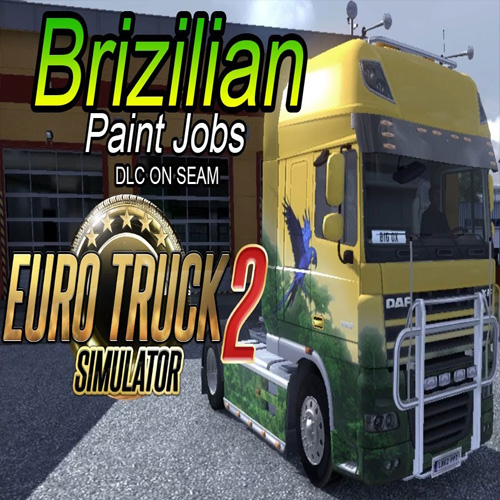 buy euro truck simulator 2 brazilian paint jobs pack cd. Black Bedroom Furniture Sets. Home Design Ideas