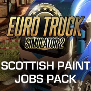 Euro Truck Simulator 2 Scottish Paint Jobs Pack