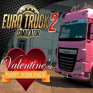 Euro Truck Simulator 2 Valentines Paint Jobs Pack