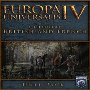 Europa Universalis 4 Colonial British and French Unit Pack