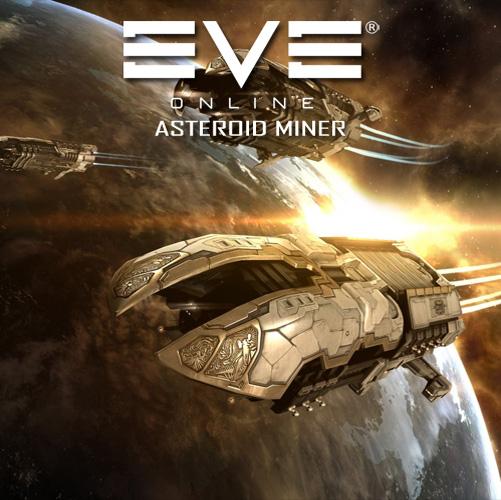 Eve Online Asteroid Miner