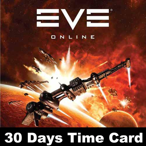 Buy Gamecard Eve Online 30 Days Prepaid Time Card