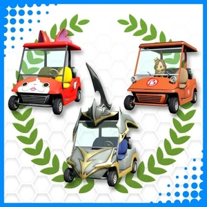 Everybodys Golf LEVEL-5 20th Anniversary Buggies