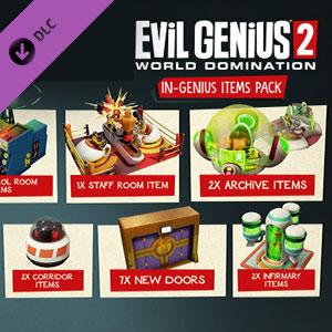 Evil Genius 2 In-Genius Items Pack
