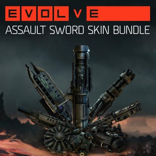 Evolve Assault Sword Skin Pack