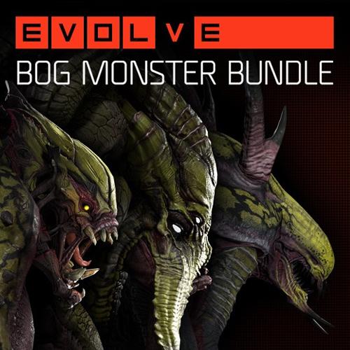 Evolve Bog Monster Skin Pack