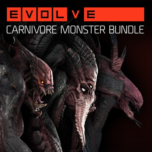 Evolve Carnivore Monster Skin Pack