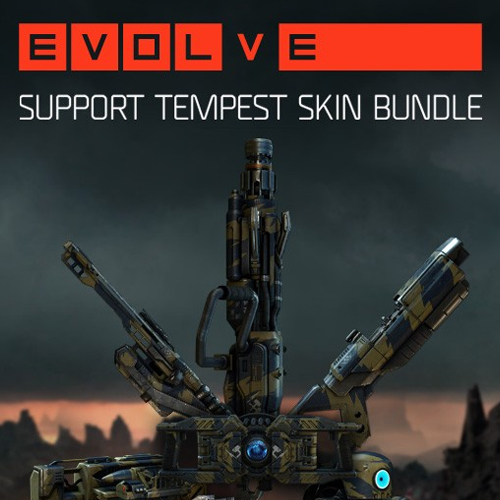Evolve Support Tempest Skin Pack