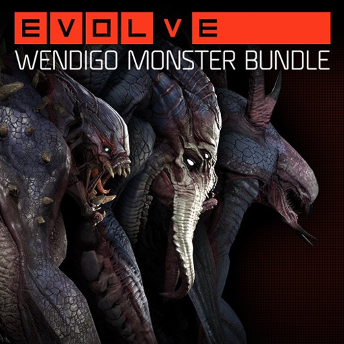 Evolve Wendigo Monster Skin Pack