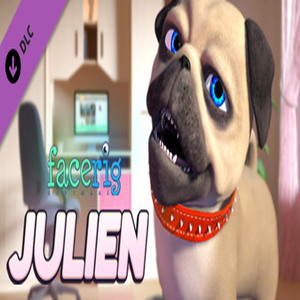 FaceRig Julien the Pug Avatar