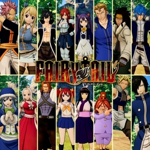 FAIRY TAIL Anime Final Season Costume Set for 16 Playable Characters