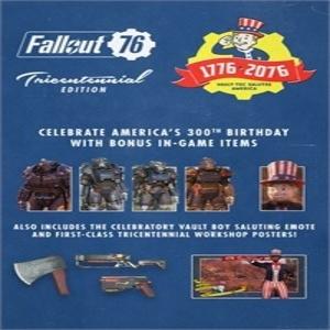 Fallout 76 Tricentennial Pack Upgrade