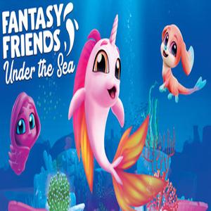 Fantasy Friends Under The Sea