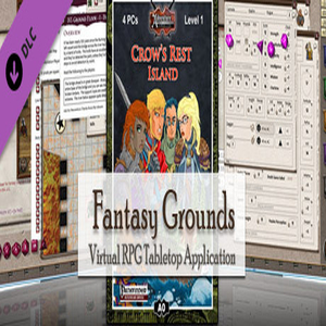 Fantasy Grounds 3 5E PFRPG A00 Crow's Rest Island