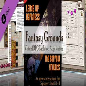 Fantasy Grounds 4E Lands of Darkness 1 The Barrow Grounds