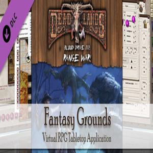 Fantasy Grounds Deadlands Reloaded Blood Drive 3