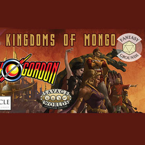 Fantasy Grounds Flash Gordon Kingdoms of Mongo