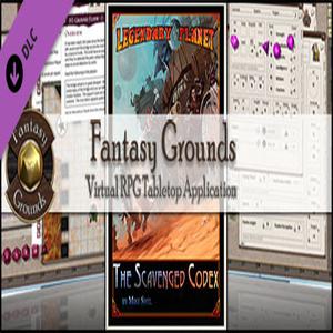 Fantasy Grounds Legendary Planet The Scavenged Codex 5E
