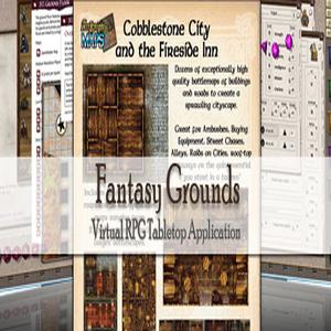 Fantasy Grounds Maps Cobblestone City and Inn