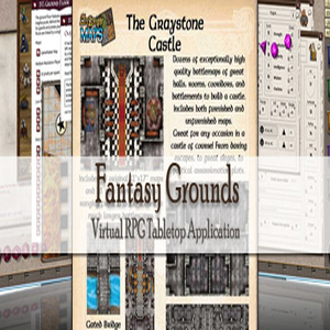 Fantasy Grounds Maps Graystone Castle