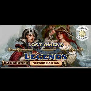 Fantasy Grounds Pathfinder 2 RPG Pathfinder Lost Omens Legends