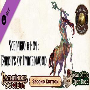 Fantasy Grounds Pathfinder Society Scenario Bandits of Immenwood