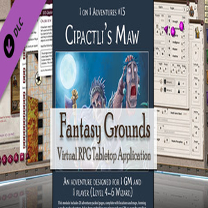 Fantasy Grounds Pfrpg Compatible Adventure Cipactli'S Maw
