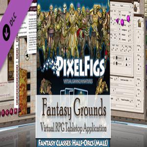 Fantasy Grounds PixelFigs Half-Orcs Token and Portrait Pack