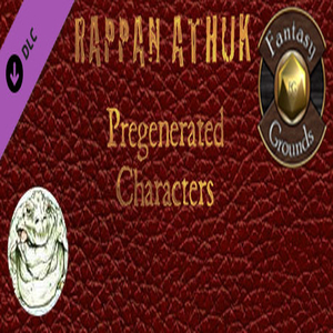 Fantasy Grounds Rappan Athuk Pregenerated Characters