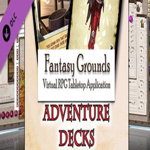 Fantasy Grounds Savage Worlds Adventure Deck
