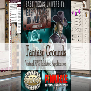Buy Fantasy Grounds Savage Worlds ETU East Texas University CD Key Compare Prices