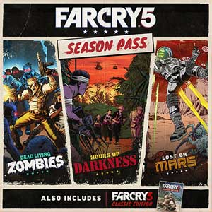Buy Far Cry 5 Season Pass PS4 Compare Prices