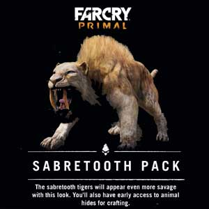 Buy Far Cry Primal Sabretooth Pack CD Key Compare Prices